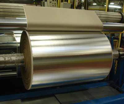 Alfipa Aluminium laminated with insulation material.