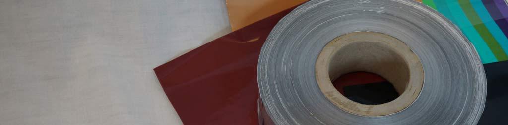 Aluminium foil on a small reel